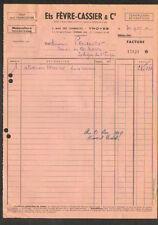 """TROYES (10) TOUT POUR L'AGRICULTURE """"Ets. FEVRE - CASSIER & Cie"""" en 1949"""