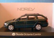 SKODA OCTAVIA COMBI TDI VERT FONCE 2004 NOREV 840660 1/43 GRUN GREEN VERDE