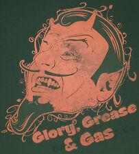 T-Shirt #695 Glory Grease + Gas, V8 Hot Rod Old School Custom Musclecar US Car