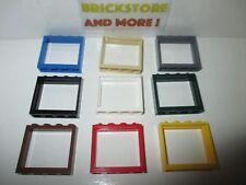 Lego - Window Fenster Fenêtre Finestra 1x4x4 60594 - Choose Color & Quantity
