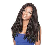 Braid Crochet Hair Faux Locs Dread Loc 16 inches No Havana Mambo Janet Noir