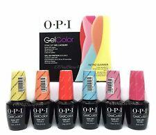 Gelcolor Soak-off Nail Polish- RETRO SUMMER 2016  - Pick Any Color/Top/Base .5oz