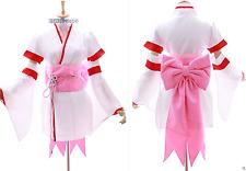 MN-17 Ram RE: ZERO kara Hajimeru Isekai Seikatsu weiß Kimono Set Cosplay Kostüm