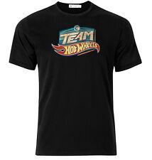 Team Hot Wheels  - Graphic Cotton T Shirt Short & Long Sleeve