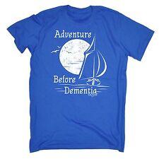 Adventure Before Dementia Sailing T-SHIRT yacht kayak sailor birthday gift 123t