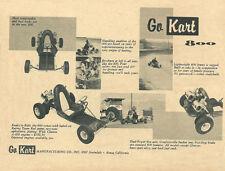 Vintage 1960 Go-Kart 800 Go-Kart Ad