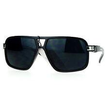 Mens UV Protection Sunglasses Square Frame Stylish Casual Fashion
