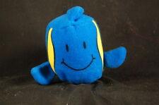 "Angelfish Tot 3"" Plush Sonic Tots  Blue Wacky Pak Stuffed Animal Lovey Toy"