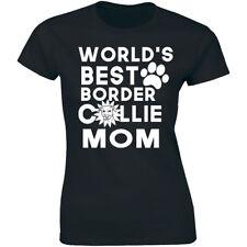World's Best Border Collie Mom Shirt For Dog Owner Women's Premium T-shirt Gift