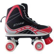 California Pro Storm Quad Roller Skates Unisex - Black/Red