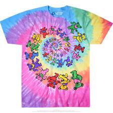 Grateful Dead Spiral Bears S, M, L, XL, 2XL Tie Dye T-Shirt