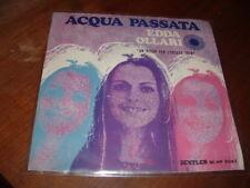 "EDDA OLLARI "" ACQUA PASSATA "" UN DISCO PER L'ESTATE'70 ITALY"