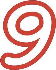 x 1 5.1cm Cifre ALTRO nel negozio EBAY) Numeri Di Gara adesivi in vinile Stile 1