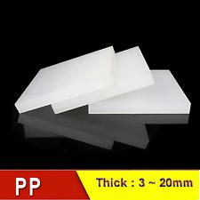 Polypropylen PP Platte Zuschnitt grau 1000 x 495 x 3 mm