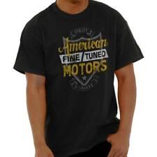 American Fine Tuned Motors USA Motorcycle Mens T-Shirts T Shirts Tees Tshirt