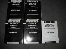 2005 Dodge Durango Service Repair Shop Manual Set W Electrical Wiring Diagram