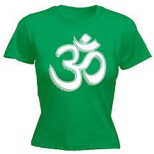 Om Symbole Womens T-shirt Spiritual Indian Buddhism Hinduism Poison Birthday funny