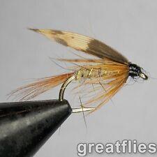 1 dozen (12) - March Brown - Wet Fly