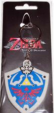 Nintendo Zelda Twilight Princess Shield rubber Keychain Key Chain new