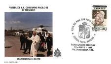 Mexico 1990 Jan Pawel II papież John Paul Pope Papa Papst Giovani Paolo (90/11)