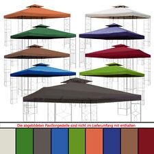 Ersatzdach 270g Dach WASSERDICHT Pavillon ca.3x3 m mit Kaminabzug Pavillondach