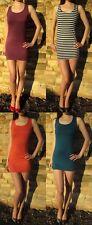 Vest Dress/Top Fashion Long Length  Sizes 8 - 16...  210 gsm