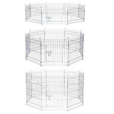 Parc clôture enclos pour chien chiots, rongeur, petit animal (3 tailles)