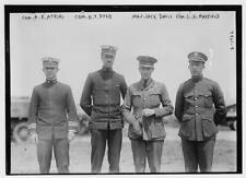 Photo of Com A K Atkins, Com H T Dyer, Maj Jack davis, Com L H Maxfield Number 1