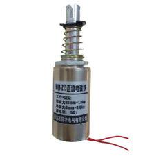 1PCS Solenoid Electromagnet DC 12/24V 10mm 1Kg Force Pull Type Tubular MQ8-Z15
