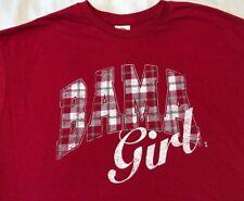 BAMA GIRLS PLAID Long Sleeve T-SHIRT Alabama Crimson Tide