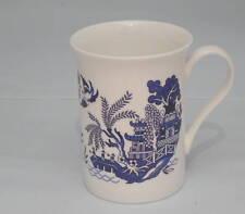 Blue willow bone china mug standard willow pattern
