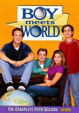 Boy Meets World: The Complete Fifth Season (DVD, 2011, 3-Disc Set) NEW FREE SHIP