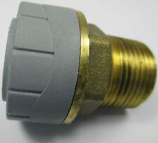 "POLYPLUMB  PUSH FIT to MALE BSP ADAPTOR 10 15 22 28 mm 1/4""3/8""1/2"" 3/4"""