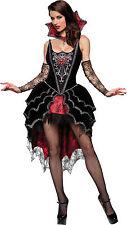 Sexy Adult Halloween InCharacter Deluxe Women's Webbed Mistress Vampire Costume