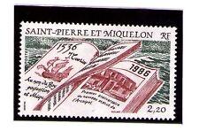 San Pierre y miquelon serie año 1986 (AD-268)