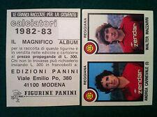 CALCIATORI 1982-83 82-1983 n 539 REGGIANA CARNEVALE MAZZA Figurina Panini velina