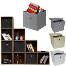 Fabric Foldable Storage Boxes Clothing Wardrobe Organizer Bag Organization