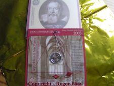 las monedas conmemorativas de 2 euros de San Marino de 2004 en el Originalfolder