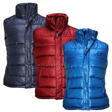 Sublevel señores chaleco de transición chaqueta acolchada GR, S, M, L, XL