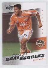 2008 Upper Deck MLS Goal Scorers #GS-15 Brian Ching Houston Dynamo Soccer Card