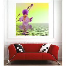 Affiche poster orchidée eau  5691190