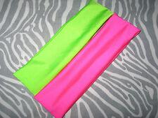 New UV Fluorescent Pink Green Yellow Black Red Blue White Purple Headbands Hair