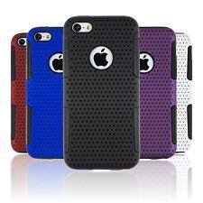 Coque Hybride Apple iPhone 5c - mesh  + films de protection