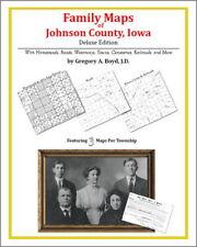 Family Maps Johnson County Iowa Genealogy Plat History