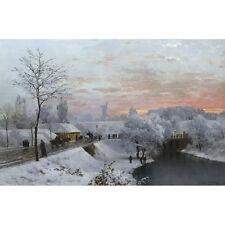 Il mantello invernale-un Andersen-Lundby medici stampa