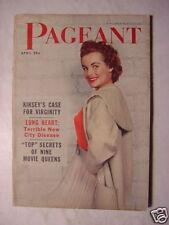 PAGEANT ApriI 1955 ABBE LANE SUSAN HAYWARD KATHARINE KATE HEPBURN +++