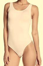YUMMIE Seamless Nude Light Control Thong Bodysuit NEW Womens S / M M / L L / XL