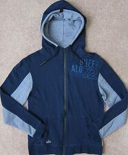 "BUFFALO (Blue) ""FALOOP"" Light Full Zip Cotton Hoodie/ Sweatshirt Men's - NWT $79"