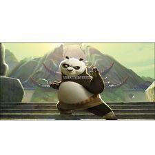 Pegatinas habitación de niño cabeza de colcha Kung Fu Panda ref 8478