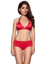 Gossard Retro Button Halterneck Triangle Bikini Bra Top 5415